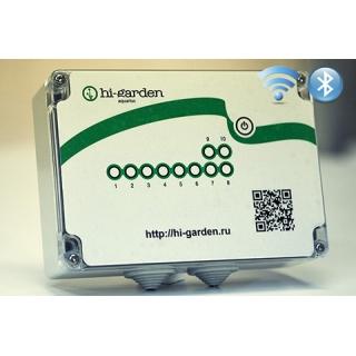 Контроллер 8 зон + 2 реле уличный Wi-Fi